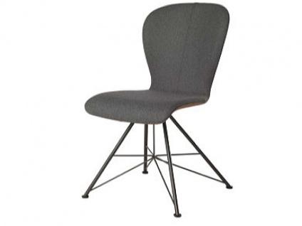 Bert Plantagie Blake Spin mit Uni-Polsterung Stuhl 613 für Esszimmer Esszimmerstuhl Gestellausführung und Bezug in Leder oder Stoff wählbar