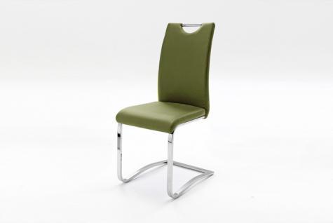 MCA Furniture Schwingstuhl Köln mit Griff 4er Set moderner Stuhl für Esszimmer in verschiedenen Ausführungen Wohnzimmer Speisezimmer