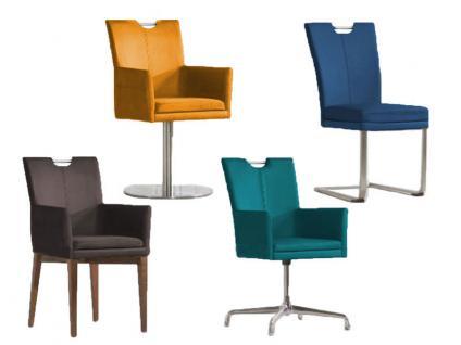 Niehoff Linea Dining Time Stuhlsystem Stuhl Sitzpolster mit Griff, Gestell und Bezug wählbar