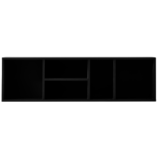 Innostyle Wohnen K2 Ausführung in anthrazit Art.Nr. 10G79942 Wandregal für Ihr Wohnzimmer oder Esszimmer horizontal und vertikal verwendbar