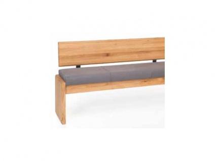 Standard Furniture Truhenbanksystem Stockholm Sitzbank mit oder ohne Rückenlehne wählbar Massivholz in 3 Holzausführungen Größe und Bezug wählbar Bank für Ihr Esszimmer oder Gaderobe - Vorschau 2