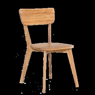 Standard Furniture Stuhl NOCI 1 aus Massivholz Eiche natur geölt Holzstuhl für Küche und Esszimmer