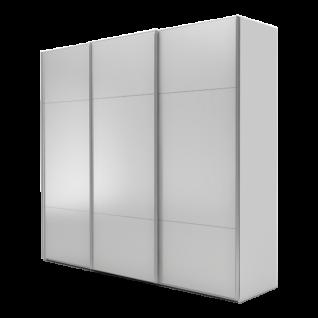 Nolte Möbel Marcato 2.3 Schwebetürenschrank Ausführung 3 mit 4 waagerechten Sprossen Korpus in Dekor und Front in Glas matt Schrankgröße und Farbausführung wählbar