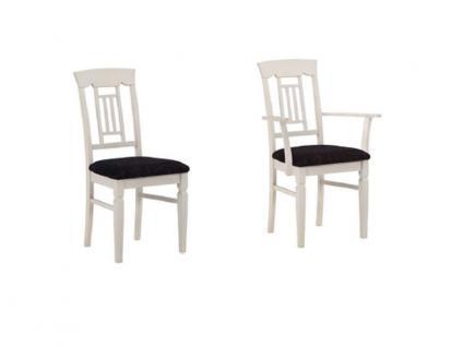 Dkk Klose Kollektion S20 Stuhl S20 Sessel Polsterstuhl mit Sitzpolster und Holzrückenlehne Stuhl passend zum Esstisch T20 für Speisezimmer Esszimmerstuhl Ausführung Bezug und Holzausführung wählbar