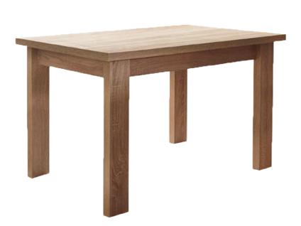 Schösswender Quattro Vierfußtisch Modell Helena Esstisch für Ihr Esszimmer mit Tischplatte und Bodenplatte im wählbaren Dekor Größe wählbar