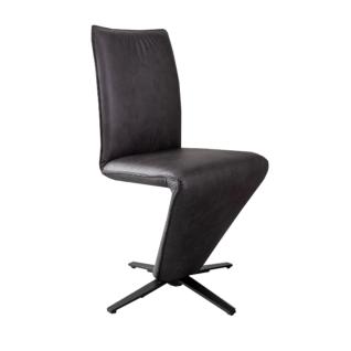 K+W komfortabler Stuhl 6234 AA mit Sternfuß-Gestell und individuell wählbarem Bezug ideal für Ihr Esszimmer