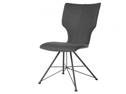 Bert Plantagie Stuhl Joni 713 Spin mit Uni-Polsterung Polsterstuhl für Esszimmer Esszimmerstuhl Gestellausführung und Bezug in Leder oder Stoff wählbar