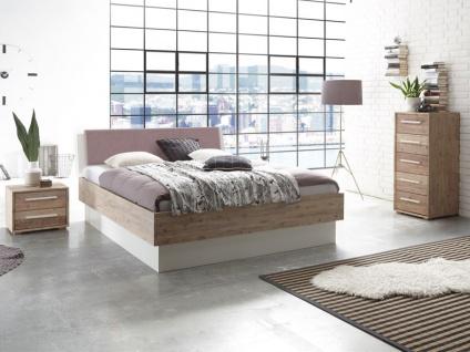 Hasena Bett Factory-Chic Bettrahmen Fremo 23 inkl. Practico Box Kopfteil Orva Liegefläche 180 x 200 cm Beimöbel wählbar