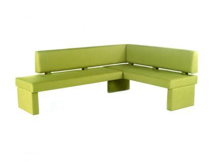 Standard Furniture Polsterbank Domino mit Stoffbezug Eckbank Bank für Esszimmer und Küche im Bezug Grand Farbe Größe und Ausführung wählbar