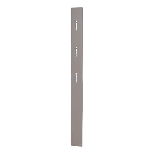 Germania Colorado Garderobenpaneel mit drei ausklappbaren Kleiderhaken aus Metall Paneel in wählbarer Ausführung für Ihre Garderobe und Ihren Eingangsbereich