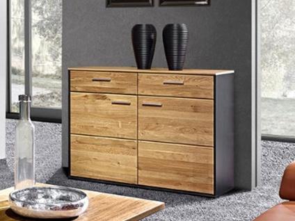 Schröder Vita Plus Sideboard 2522 teilmassive Kommode mit Schubkästen und Türen für Wohnzimmer oder Esszimmer