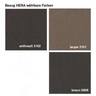 Standard Furniture Sitzbank Stockholm mit Truhe und Stauraum Gestell bzw. Holzart und Bezugsfarbe wählbar - Vorschau 4