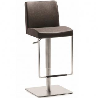 Mayer Sitzmöbel Tresenhocker myBREAK Art.Nr. 1260EL Bezug und Farbe für Sitzschale wählbar Gestell höhenverstellbar und drehbar
