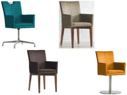 Niehoff Colorado Stuhlsystem mit ArmlehneStuhl Ausführung Sitzpolster Gestell und Bezug wählbar Linea Dining Time