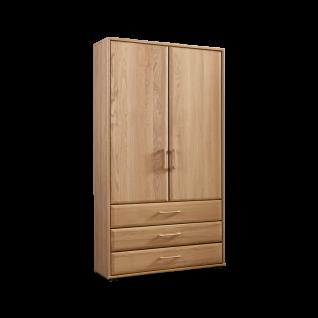 Wiemann Lido Wäscheschrank schlicht mit 3 Auszügen und 2 Türen Farbausführung wählbar