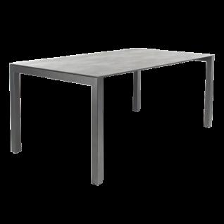 Bert Plantagie Pedro Keramik Esstisch mit fester Platte Tisch für Esszimmer Tischplattenausführung Gestellausführung und Größe wählbar