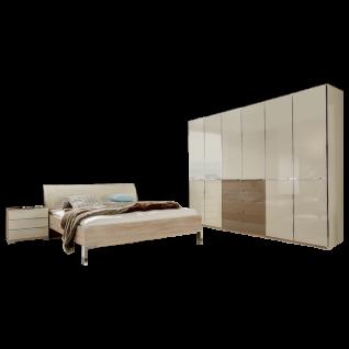 Wiemann Shanghai Schlafzimmer-Set 4-teilig bestehend aus Futonbett, Funktionsschrank und Nachtkonsolen