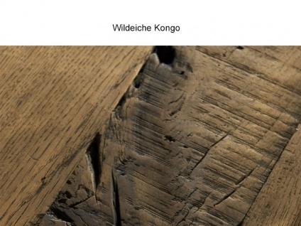 Bodahl Woodstock Timber Anrichte 10587 wild oak Massivholz Kommode mit drei Schubkästen und vier Türen für Wohnzimmer und Esszimmer Holzausführung wählbar - Vorschau 5