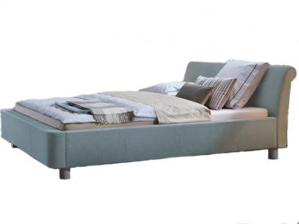 Hasena Dream-Line Bett bestehend aus Bettrahmen Rondo Kopfteil Zamo Füße Monte Liegefläche 180 x 200 cm optional mit Längstraverse wählbar