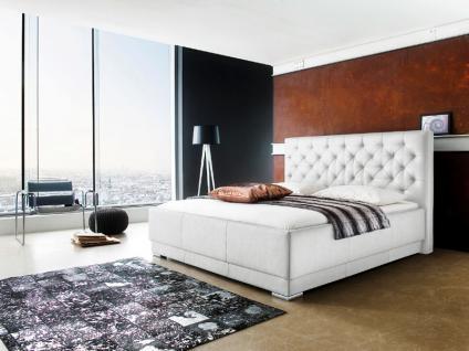 Meise Möbel Pisa Polsterbett mit Kunstlederbezug Maxim in weiß oder schwarz