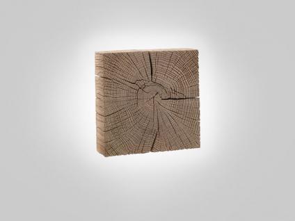Hartmann Naturstücke Wandscheiben als Wand-Leuchte 1061 in Riffbuche oder Riffeiche Massivholz gebürstet wählbar Accessoires für Wohnzimmer Esszimmer oder Garderobe