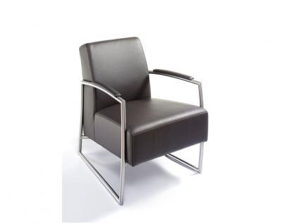 K+W Möbel Sessel Einzelsessel 7400 Bezug Ausführung und Naht wählbar
