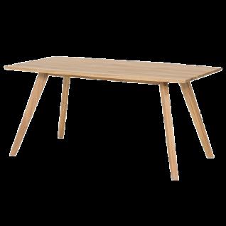Standard furniture Esstisch Trondheim mit Holzplatte oder mit Glasplatte Tisch für Esszimmer Größe und Ausführung wählbar