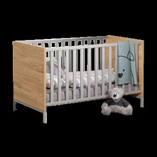 Paidi Benne Kinderbett mit Airwell Comfort Lattenrost Liegefläche ca. 70x140 cm