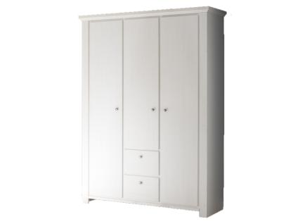 Mäusbacher Dandy Kleiderschrank 0335_32 mit 3 Türen und 2 Schubkästen für Babyzimmer oder Kinderzimmer im Dekor Anderson pine