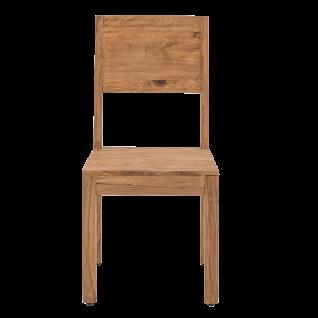 Sit Möbel SANAM Stuhl aus Sheesham Holz massiver Holzstuhl