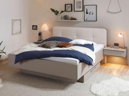 Staud Sinfonie Plus Bett Luxushöhe mit Fußteil schwenbend inkl. Kopfteil Royal Liegefläche wählbar