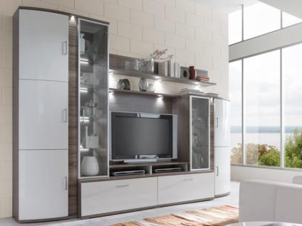 IDEAL-Möbel Wohnwand Teno Kombination 100 Anbauwand in verschiedenen Ausführungen wählbar