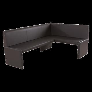 Standard Furniture Polsterbank Berlin Eckbank oder Einzelbank Polsterbank für Esszimmer und Küche Bank im Bezug Elektra und Ausführung wählbar