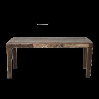 Sit Möbel FRIDGE Esstisch Tischplatte Altholz mehrfarbig im Used Look