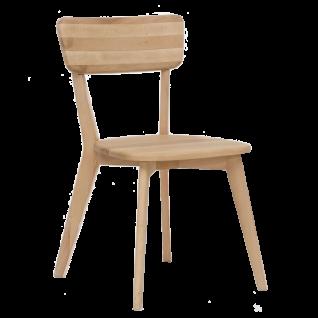 Standard Furniture Stuhl NOCI 1 aus Massivholz Kernbuche geölt Holzstuhl für Küche und Esszimmer
