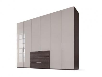 Nolte Möbel concept me 220 Drehtüren-Komplettschrank mit vorgezogenem Schubkastenblock Ausführung wählbar
