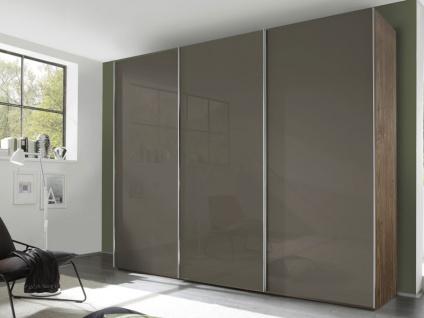 Nolte Evena Schwebetürenschrank Kleiderschrank Korpus Dekor und Front Vollverglast Ausführung wählbar
