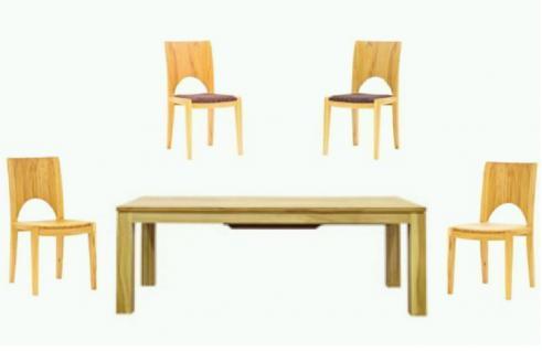 Dkk Klose Kollektion Stuhl oder Sessel S4 in Bezug und Holz Ausführung wählbar