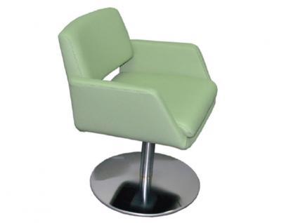 K+W Silaxx 6115 1A Drehsessel Sessel mit Metallteller KW Möbel Sessel für Esszimmer Bezug wählbar Stuhlsystem H2O