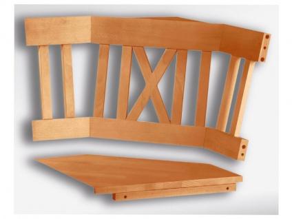 Schösswender Linz Eckteil in Buche Massivholz natur lackiert Massivsitz (inkl. Innenwange) Sitzkissen wählbar ideal für Ihr Esszimmer