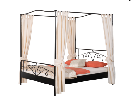vorhang himmelbett g nstig online kaufen bei yatego. Black Bedroom Furniture Sets. Home Design Ideas