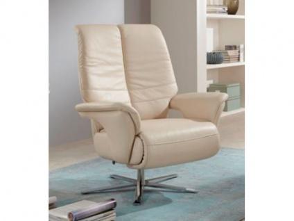 Steinpol Polsteria TV-Sessel Fraser Lounge inklusive 2-motorischer Verstellung und Akku in Stoff oder Echtleder Ausführung wählbar
