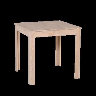 Standard Furniture Esszimmertisch Pedro in 2 Größen mit fester Tischplatte Holztisch aus Eiche sonoma