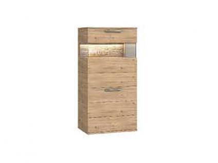 Dkk Klose Kollektion K20 Kastenmöbel Highboard Schrank geölt oder mit Wachseffektlack Kommode für Wohnzimmer oder Esszimmer mit Glastüren Anrichte Größe Ausführung und Zubehör wählbar - Vorschau 3