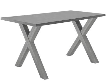 Mäusbacher Mister Office Schreibtisch mit wählbarer Gestellform Tischplattengröße und mit wählbarem Dekor für Tischplatte und Gestell Schreibtisch für Ihr Arbeitszimmer Büro oder Homeoffice - Vorschau 5