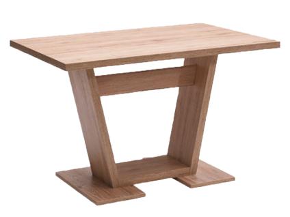 Schösswender Quattro Säulentisch Modell San Marino Esstisch für Ihr Esszimmer mit Tischplatte und Bodenplatte im wählbaren Dekor Größe wählbar