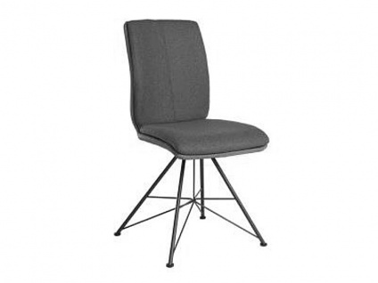 Bert Plantagie Stuhl Tara Spin 813C Komfort Spin mit Uni-Mattenpolsterung Polsterstuhl für Esszimmer Esszimmerstuhl verschiedenen Gestellausführungen und Bezug in Leder oder Stoff wählbar