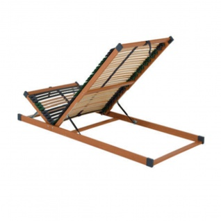 Dico Möbel Spiritmode 7- Zonen Lattenrost Kopf und Fußteil manuell verstellbar mit Bettkastenfunktion in verschieden Größen