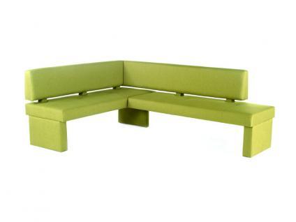 Standard Furniture Polsterbank Domino mit Stoffbezug Eckbank Bank für Esszimmer und Küche im Bezug Grand Farbe Größe und Ausführung wählbar - Vorschau 2
