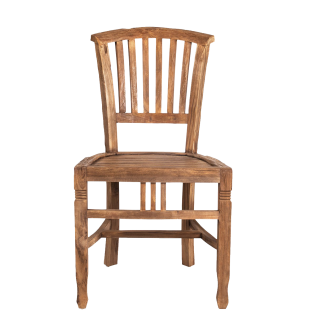Sit Möbel Holzstuhl aus recycelten Teakholz massiv im Nature Look